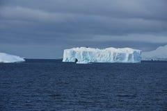 Eisberg weg von der Paradies-Bucht, die Antarktis lizenzfreie stockfotos