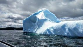 Eisbergaufpassen stockfotos
