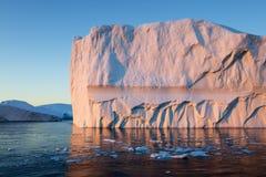 eisberge stockfotografie