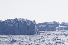 Eisberge bei Ilulissat, Grönland Lizenzfreie Stockfotos