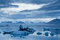 Eisberge in Glazial- Lagune Jokulsarlon Stockfotos