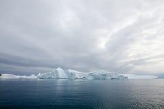 Eisberge in Ilulissat Stockfotos