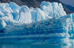 Eisberge im Wasser, der Gletscher Perito Moreno argentinien Stockfotos