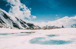 Eisberglandschaft Lizenzfreie Stockbilder
