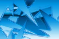Eisbeschaffenheit Lizenzfreies Stockfoto
