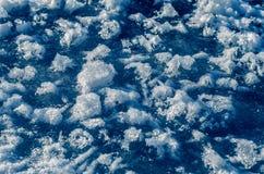 Eisbeschaffenheit. lizenzfreies stockbild