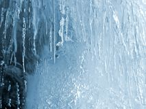 Eisbeschaffenheit Stockfoto