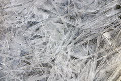Eisbeschaffenheit Stockbild