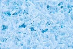 Eisbeschaffenheitshintergrund stockfoto
