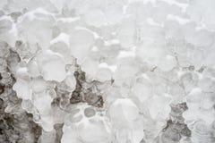 Eisbildungen Stockfotografie