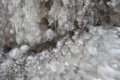 Eisbildungen Stockbild