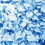 Eisblauhintergrund Stockbilder