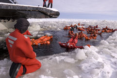 Eisbrecherausflug in Finnland Lizenzfreies Stockfoto