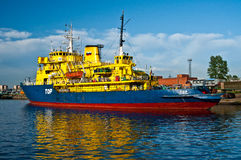 Eisbrecherschiff Stockfoto