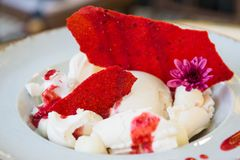 Eiscreme Cake lizenzfreie stockfotografie