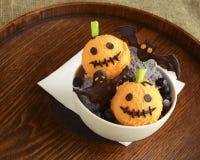 Eiscreme für Halloween Lizenzfreie Stockfotos