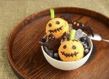 Eiscreme für Halloween Stockbild