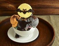 Eiscreme für Halloween Lizenzfreies Stockfoto
