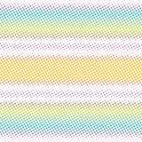Eiscreme-Farbstreifen-Art-Schmutz-Dots Vector Radial Texture Background-Muster lizenzfreie abbildung