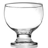 Eiscreme oder leeres Glas des Cocktails lizenzfreie stockfotos