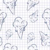 Eiscreme-Papier lizenzfreie abbildung