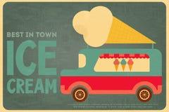 Eiscreme-Poster Lizenzfreie Stockfotos