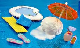 Eiscreme-Sommer Lizenzfreie Stockbilder