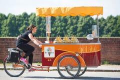 Eiscreme-Verkäufer Lucca Lizenzfreie Stockfotografie