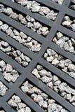 Eisen auf den Felsen Stockfotografie