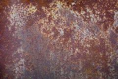 Eisen-Beschaffenheitshintergrund des alten Schmutzes rustikaler Metall Lizenzfreies Stockbild