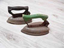 Eisen für das Bügeln Stockfoto