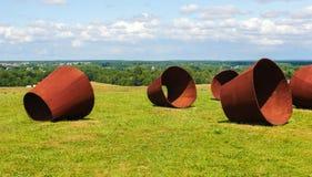 Eisen im Gras Lizenzfreie Stockfotografie