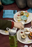 Eisen-kleiner Kuchen Milwaukee Stockbilder