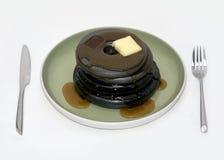 Eisen-Pfannkuchen Stockfotos