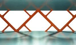 Eisen strahlt Wiedergabe 3D Stockbild