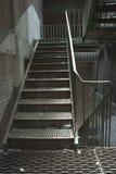 Eisen-Treppenhaus Stockbilder