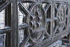 Eisen umgewandelt in Eis Lizenzfreie Stockbilder