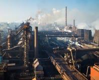 Eisen und Stahlwerk Lizenzfreie Stockbilder