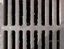 Eisenabwasserkanalgitter Stockbilder