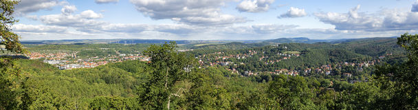 Eisenach, Germany - Panorama Royalty Free Stock Image