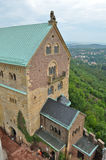 Eisenach Wartburg Castle Tower view Stock Image