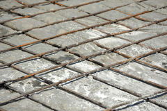 Eisenarmatur und -beton Lizenzfreies Stockbild