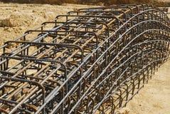 Eisenaufbau lizenzfreies stockbild