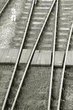 Eisenbahnüberfahrt lizenzfreie stockfotos