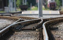 Eisenbahn. Lizenzfreies Stockbild