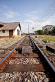 Eisenbahn. Lizenzfreie Stockbilder