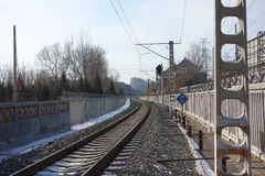 Eisenbahn Stockfoto