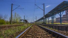 Eisenbahn Stockbild
