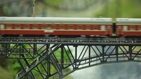Eisenbahn ausdrücklich in der Bewegung stock footage
