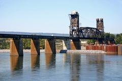 Eisenbahn-Brücke Lizenzfreie Stockfotos
